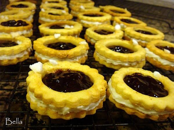 覆盆子莓果醬餅乾