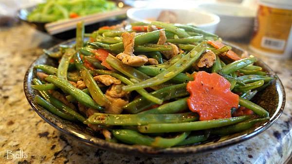 炒半四季豆