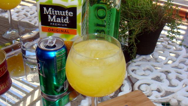 早餐柳橙汽泡酒