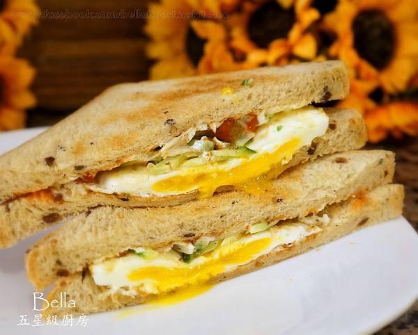 美而美烤蛋三明治
