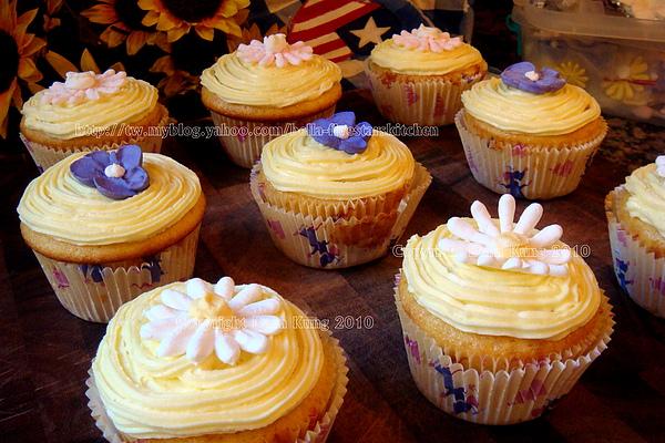 檸檬杯子蛋糕 Lemon Cupcake