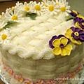 籐籃雛菊蛋糕 Basketwease Daisy Cake