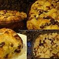 白巧克力核桃麵包布丁 White Chocolate Bread Pudding