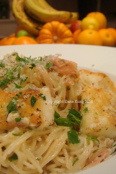 智利鱈魚甜薑意大利麵Chilean Seabass w/Pickled Ginger Pasta