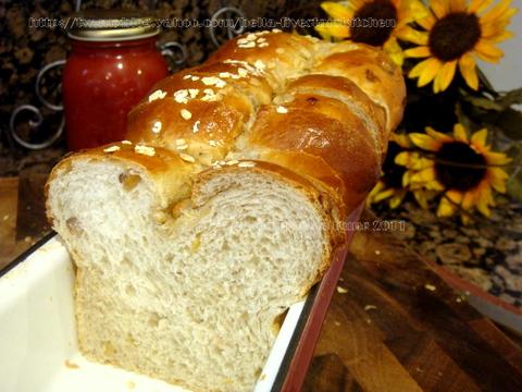 黃金葡萄麵包