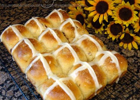 復活節十字麵包