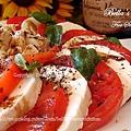 蕃茄起司片沙拉