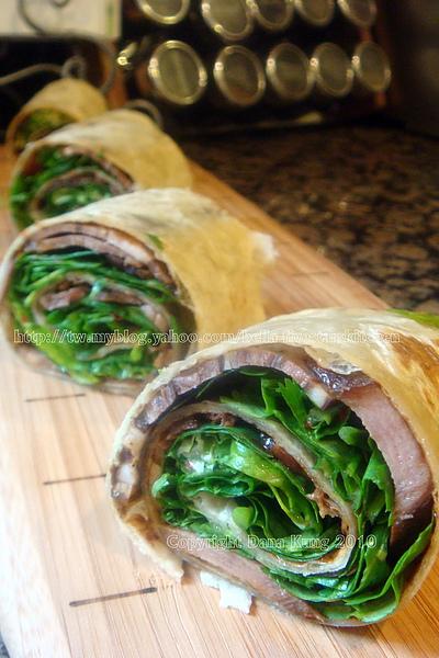 醬肉捲餅 Beef Sandwich Rolls