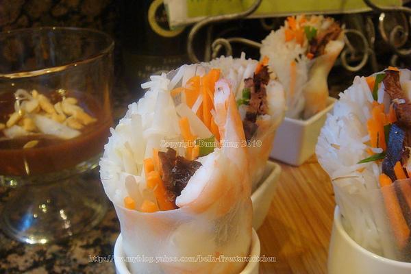 越式米紙春捲 Vietnamese Spring Rolls