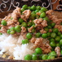 青豆味增肉燥