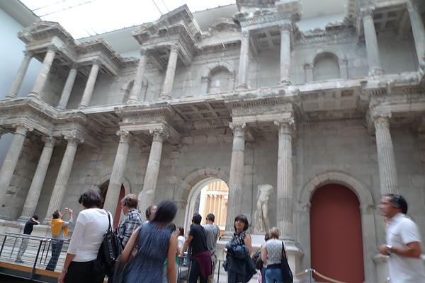 Pagamon Museum內建築