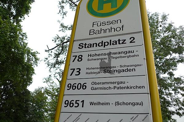 Fussen公車站