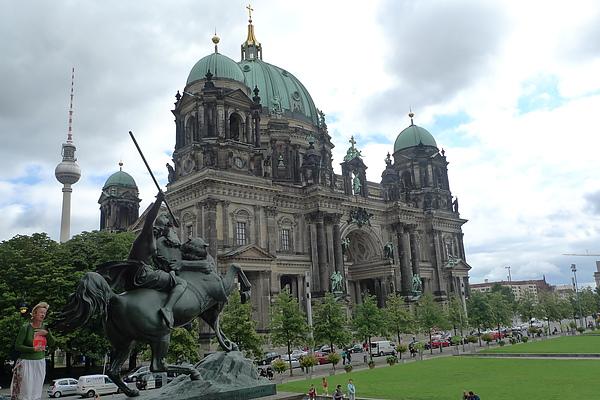 舊博物館看柏林大教堂