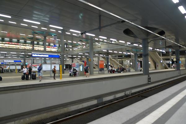 柏林總站內
