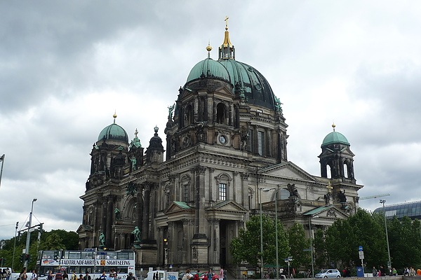 柏林大教堂側面