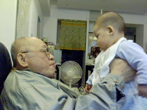 小傑跟爺爺