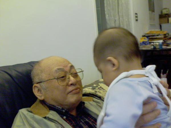 爺爺心花ㄦ開
