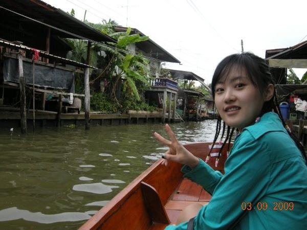 泰國的水上市集