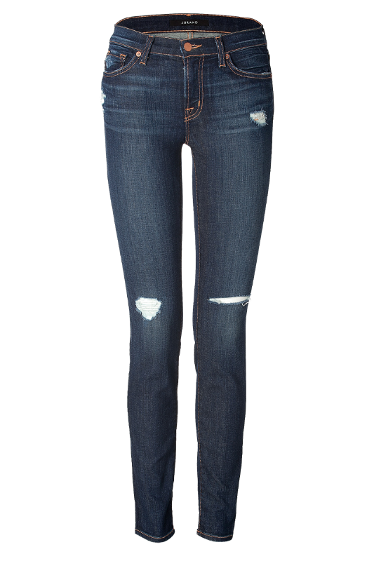 J-Brand-Jeans-Mid-Rise-Distressed-Jeans