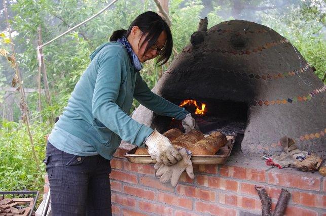 野蔓園:手作窯烤麵包出爐囉!