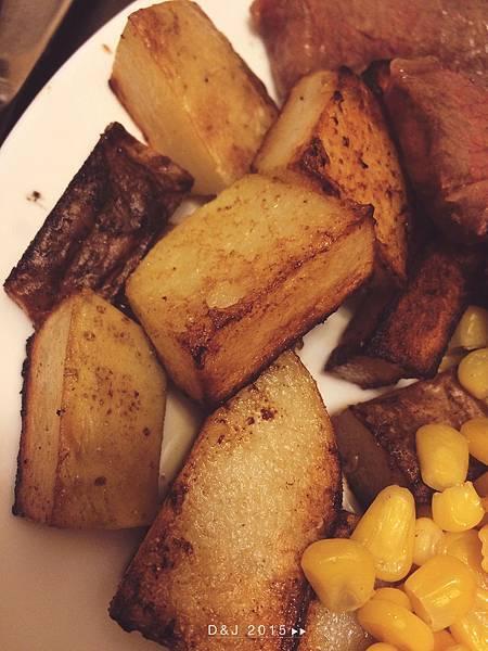 美式金黃香煎薯塊