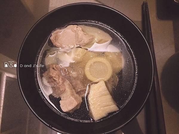 筍子排骨湯
