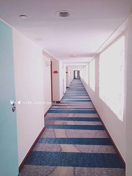 7樓的走廊