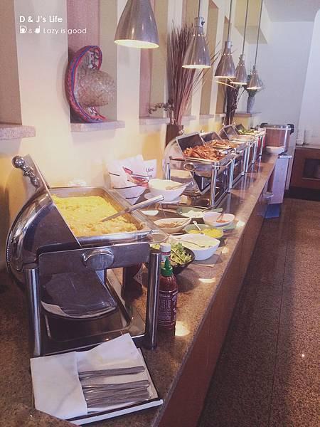 悅泰酒店內附贈早餐