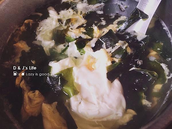 海帶蛋花湯