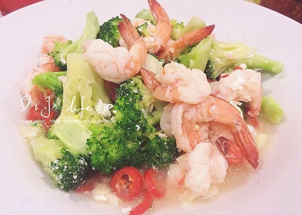 花椰菜炒鮮蝦