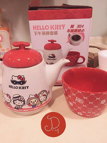hello kitty茶壺組