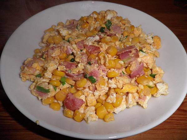 培根玉米蛋
