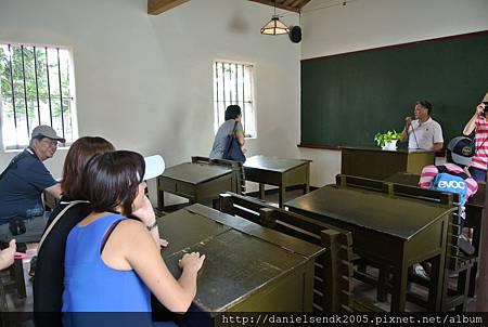 懷念的舊式小學教室