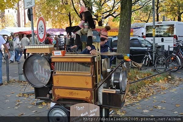 傳統街頭音樂藝人