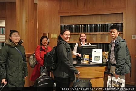 Check in at Radisson Blu Saga Hotel