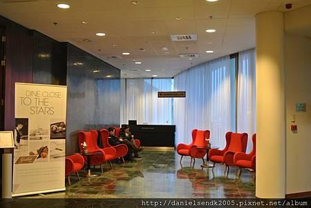 Lobby at Radisson Blu Saga Hotel