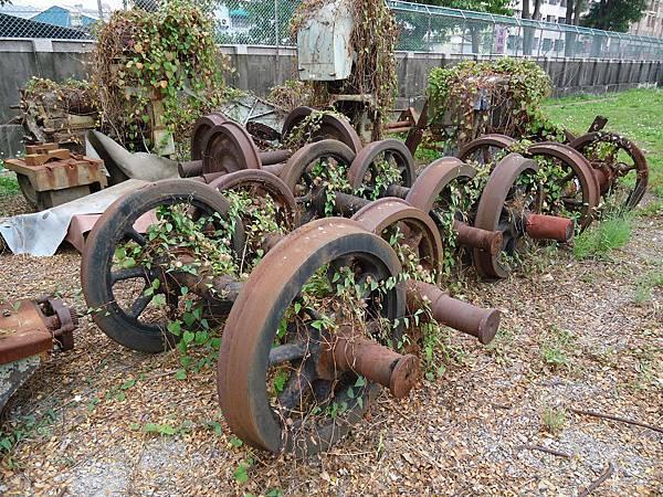 輪幅式車輪