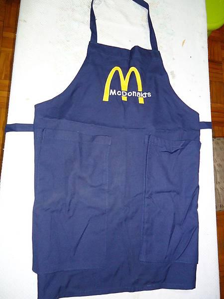 麥當勞圍裙