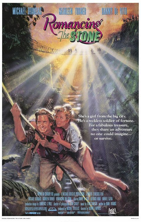 romancing_the_stone poster