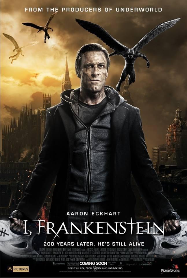 I, Frankenstein (2014) poster