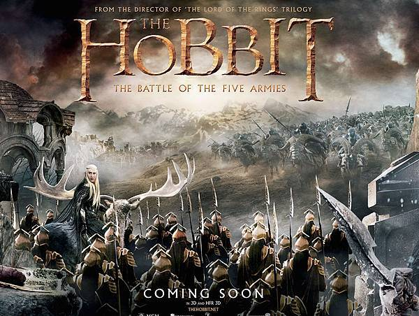 2014 The Hobbit The Battle of the Five Armies