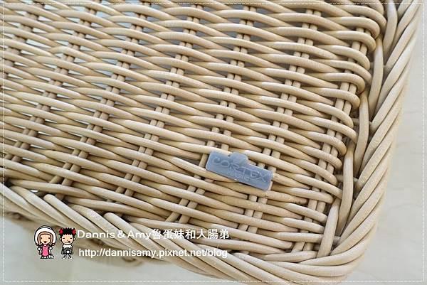 科德斯方型提把編織籃鳥巢室內小物收納籃 (4)