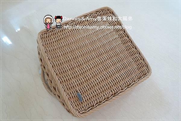 科德斯方型提把編織籃鳥巢室內小物收納籃 (5)