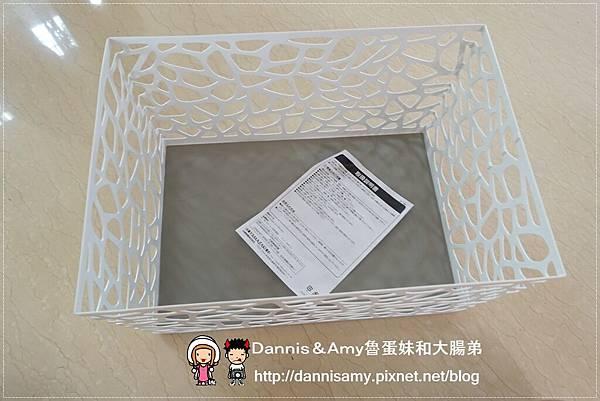 科德斯方型提把編織籃鳥巢室內小物收納籃 (7)