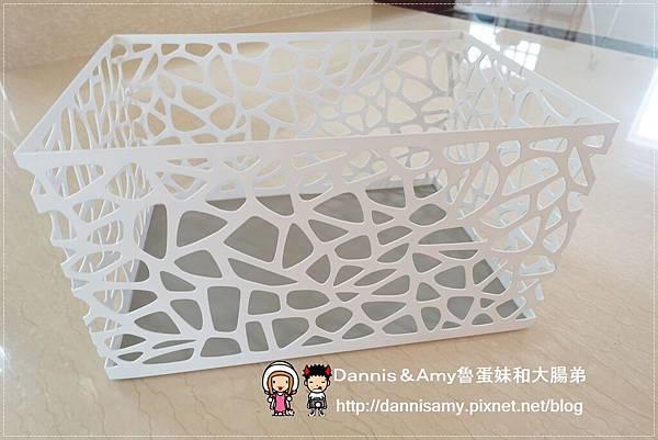 科德斯方型提把編織籃鳥巢室內小物收納籃 (10)