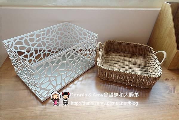 科德斯方型提把編織籃鳥巢室內小物收納籃 (12)