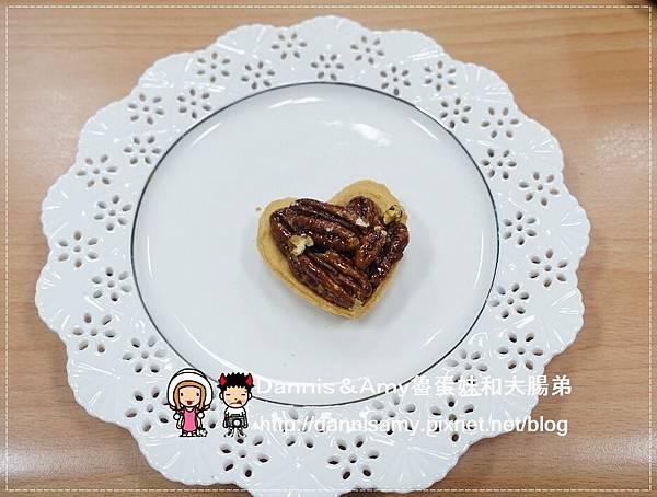 鴻鼎菓子【臻典風華】豆你愛心 愛心堅果塔 桃喜酥 (8)