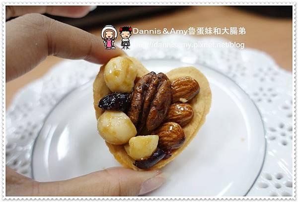 鴻鼎菓子【臻典風華】豆你愛心 愛心堅果塔 桃喜酥 (15)