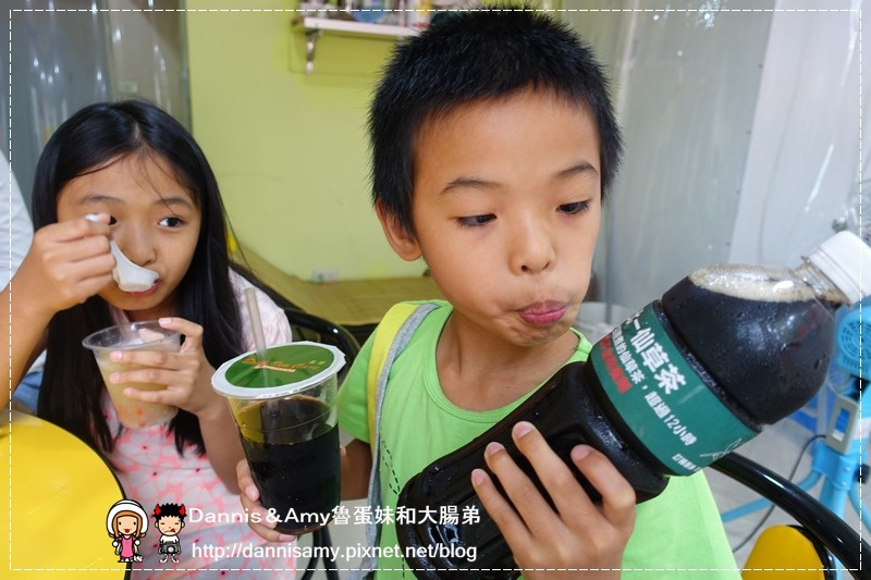 北一綠豆沙牛奶 仙草茶 (28)