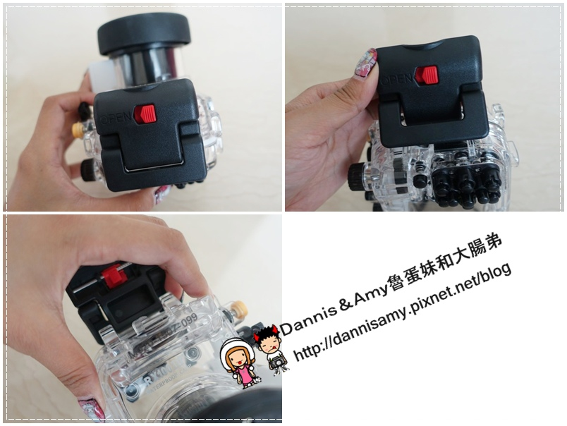 Meikon佳美能專用防水殼x SONY RX100 III (2)